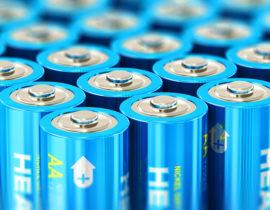 Einweg Batterien